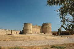 Citadel in old moldavian fortress in Ukraine Stock Photography