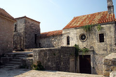 Citadel The old town of Budva Stock Photo