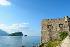 Citadel in Old Town of Budva. Montenegro, Balkans, Europe Royalty Free Stock Photography