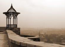 Citadel Pergola. Pergola in Cairo citadel - in Sepia Color stock image