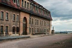 Citadel Petersberg in Erfurt Royalty Free Stock Image