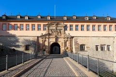 The Citadel Petersberg of Erfurt, Germany Stock Images