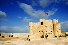 Citadel of Qaitbay Stock Images