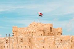 Citadel of Qaitbay Stock Image