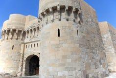 Ancient Citadel of Qaitbay Royalty Free Stock Photography