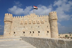 Citadel of Qaitbay, Egypt Royalty Free Stock Photos