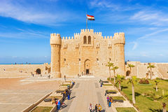 Citadel of Qaitbay fortress, Alexandria, Egypt Stock Photos