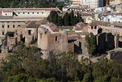 Citadel rooftops, Malaga, Spain. Stock Photo
