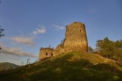 Citadel ruins. Bologa citadel ruins, Cluj, Romania Stock Photo