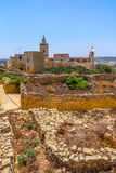 Citadel Ruins and Cathedral Stock Photography