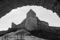 Citadel Rupea Stock Afbeelding