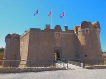 The citadel of Saint-tropez. Citadel of Saint-Tropez, which now serves as a maritime museum stock photos