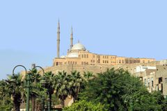 The citadel Saladin El Cairo Egypt Royalty Free Stock Photos