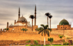 Citadel of Sultan Saladin al-Ayyuby in Cairo Royalty Free Stock Photos