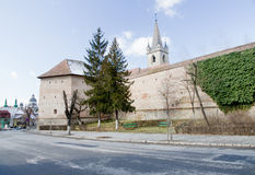 Citadel of Targu Mures Stock Photography