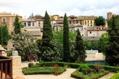 Citadel Toledo, Spanien Royaltyfria Bilder