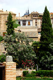 Citadel Toledo, Spanien Arkivfoton