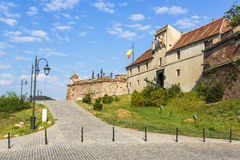 Citadel van Brasov Royalty-vrije Stock Afbeeldingen