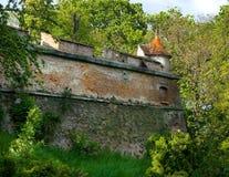 Citadel van Brasov - Roemenië Stock Afbeeldingen
