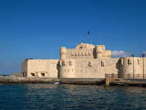 Citadel van Qaitbay Royalty-vrije Stock Fotografie