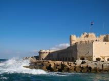 Citadel van Qaitbay Stock Afbeeldingen