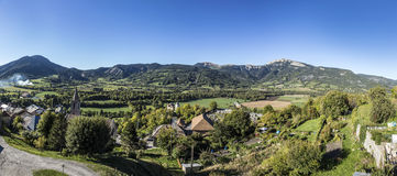 Citadel Vauban in  Seyne les Alpes in the french Region provence Stock Photography