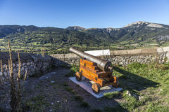 Citadel Vauban in  Seyne les Alpes in the french Region provence Royalty Free Stock Photography