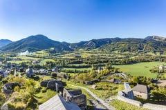 Citadel Vauban in  Seyne les Alpes in the french Region provence Stock Photo