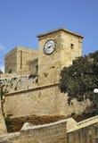Citadel in Victoria. Gozo island. Malta Royalty Free Stock Photography