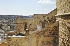Citadel in Victoria. Gozo island. Malta Royalty Free Stock Images