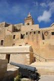 The Citadel of Victoria, Gozo, Malta. royalty free stock photo