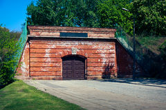Citadel in Warsaw - south gate royalty free stock photos