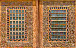 Citadel wooden windows Royalty Free Stock Images