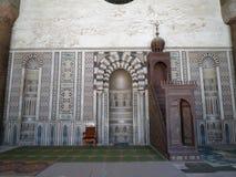 Citadela在开罗,埃及 免版税库存照片