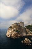 Citadela de Dubrovnik Fotografia de Stock