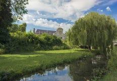 Citadela de Lille, França imagens de stock royalty free