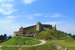Citadela de Rasnov Foto de Stock Royalty Free