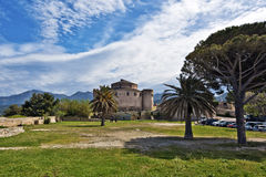 Citadela de Saint-Florent Fotografia de Stock Royalty Free