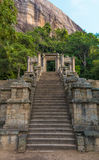 A citadela de Yapahuwa, Sri Lanka Imagem de Stock Royalty Free