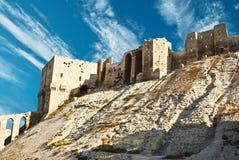 Citadela em Aleppo Imagens de Stock Royalty Free
