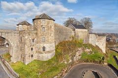 Citadela em Namur, Bélgica Fotografia de Stock