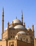 Citadela o Cairo de Mohamed Ali fotografia de stock royalty free