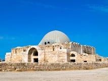 Citadela romana em Amman, Jordão fotografia de stock