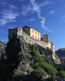 citadelcorsica corte Royaltyfria Bilder