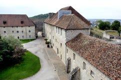 Citadelen av Besancon i Frankrike Fotografering för Bildbyråer