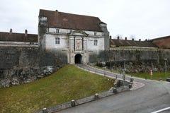Citadell av Besancon Royaltyfri Fotografi