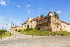 Citadell av Brasov Arkivfoto