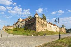 Citadell av Brasov Arkivbilder