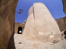 Citadell av Calvi, Korsika Arkivbild