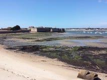 Citadell av Port Louis, Brittany, Frankrike Royaltyfri Foto